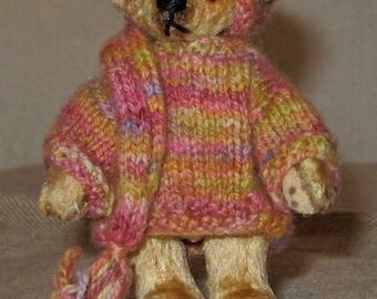 SALE Hand made miniature bear