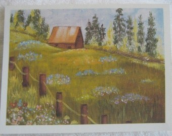 Art print note card set