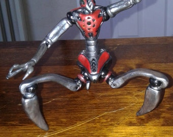 ZARR''AUR''LOCK (Alien Robot) Clay figure