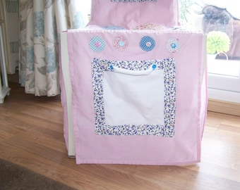 Chair Cover Cooker *** FREE 5 piece wooden children's sized cooking utensils***