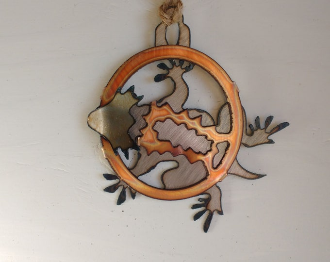 Horned Toad Ornament