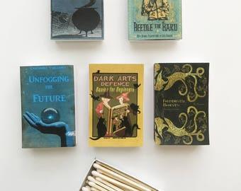 Harry Potter Potion Spell Books Matches // J.K. Rowling // Stocking Stuffers
