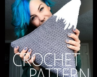 One Peak Pillow CROCHET PATTERN
