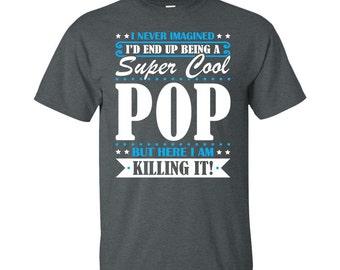 Pop, Pop Gifts, Pop Shirt, Super Cool Pop, Gifts For Pop, Pop Tshirt