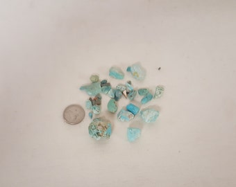 Raw Turquoise from Southwest Mines, Turquoise for Jewelry, unpolished turquoise, Turquoise nuggets, Turquoise stones, turquoise rocks