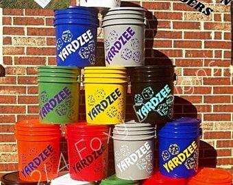 Yardzee Lawn Game / Yard Games / Yahtzee / Yardzee Dice Game
