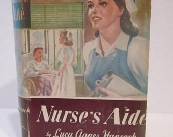 NURSE'S AIDE by Lucy Agnes Hancock Teen Fiction Vintage Hardback