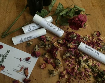 Lavendar & Rose Lip Balm
