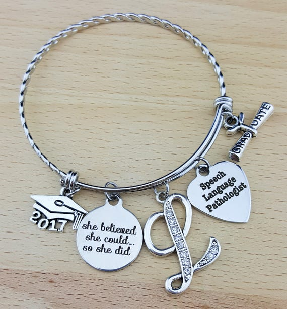 Speech Language Pathologist Speech Language Pathologist Gift Graduation Gift College Graduation Graduation Gift for Her Senior 2017