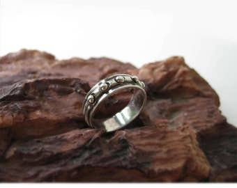 Bands ring, bands silver ring, women's silver ring, band silver ring, silver sterling ring, creative ring, mens silver ring