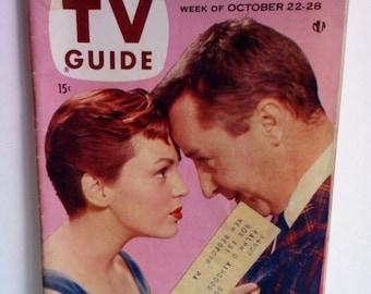 TV Guide Magazine Pittsburgh Local 1955