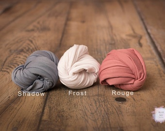 Newborn Wrap, Newborn Jersey Knit Wrap, Baby Wrap, Photo Prop, 4-way Stretch Wrap