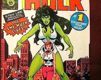 Price Drop!  SHE-HULK No. 1 - 1979 Comic Book - Marvel (F)