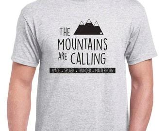 The Mountains are Calling Space Splash Thunder Matterhorn