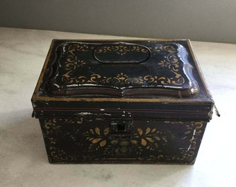 Antique Tin Box from the 1900's