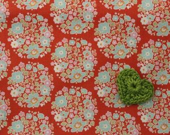 Tilda Bumblebee FQ / Tilda Newest Collection / Flower Nest Orange / Fat quarter