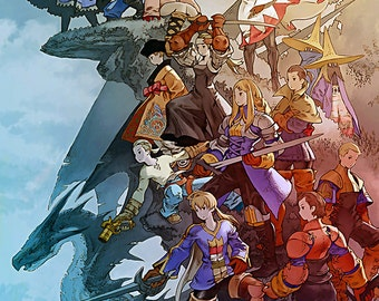 Final Fantasy Tactics: The War of the Lions Poster