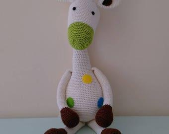Crochet Amigurumi Stip & Haak Gus the Giraffe
