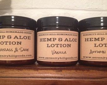 Hemp and Aloe Lotion-New lower price!