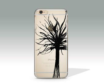 Tree iPhone 7 Case Clear iPhone 6 Case Clear iPhone 6s Case iPhone 7 Plus Case iPhone 5s Case iPhone 6s Plus Case Silicone iPhone Case //283
