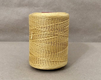 New 500 Meters Spool of 3.0 mm Camel Waxed Thread for Leather Hand Sewing