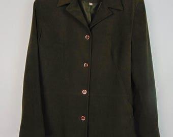 Vintage Dark Green Jacket