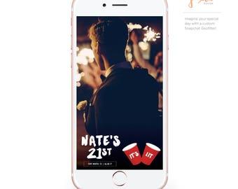 Custom Snapchat Geofilter: Birthday Solo Cup