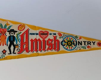 From the Heart of Amish Country - Vintage Pennant