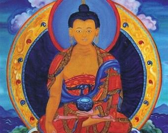 Enlightenment Buddha Art Print - Yoga, Spirit, Meditation, Inspiration, Spiritual Gift, Painting, Soul