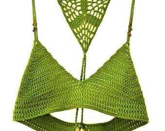 The Earth Crochet Top