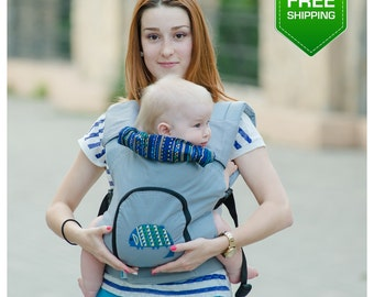 Fatherly Baby Carrier, Manly Baby Carrier, Dad Baby Carrier, Buckle Baby Carrier, Cotton Baby Carrier, Hoody Baby Carrier, Baby Sling