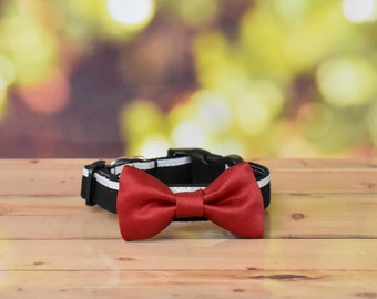 Tuxedo Mask from Sailor Moon Themed Cat Collar with Bow and charm, rose, sailor, featured, Tuxedo Kamen, mamo chan, handmade