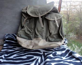 Canvas Backpack Mountain Equipment Rucksack Retro Backpack Camping Backpack Canvas Backpack Camping Rucksack Backpack Hiking Bag