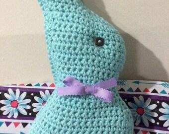 Crochet Chocolate Easter Bunny
