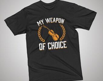 Viola Weapon of Choice T-Shirt
