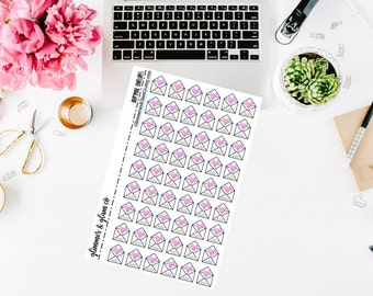 Mini HappyMail Envelope planner stickers
