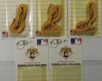 Pittsburgh Pirates 1318 (Sunglass Holders) Fits All Glasses 5 Packs USA