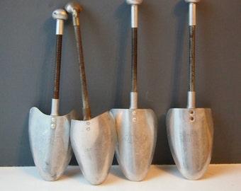 Vintage Metal Shoe Trees, Shoe Lasts, Shoe Shaper, Shoe Stretcher, Shoe Storage, Shoe Care, Antique Shoe Trees, Metal Shoe Lasts, Collection