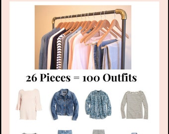 The Essential Capsule Wardrobe: Spring 2017 Collection