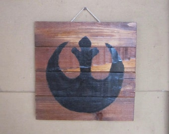 Rogue One Star Wars Inspired Rebel Alliance Wood Pallet Sign
