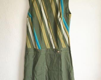 Unique Drop Waist Dress