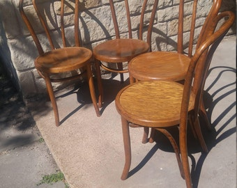 Bentwood chairs set of 4