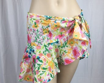 Vintage Ralph Lauren Floral Sarong