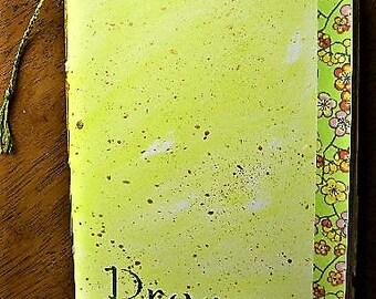 art journal, handmade journal, watercolor paper, travel journal