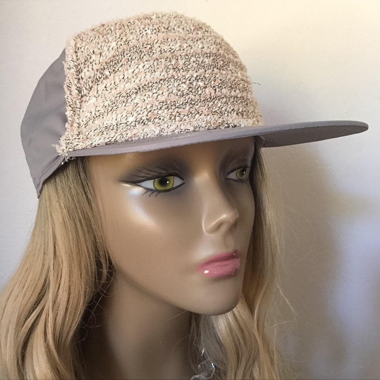 Cute Womens Knit Baseball Cap Womens Hats Womens Baseball Hat