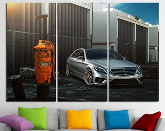 Mercedes Benz S63 Mercedes Benz AMG Mercedes Benz Print Mercedes Benz Canvas Mercedes Wall Art Mercedes Benz Art Mercedes Benz Poster