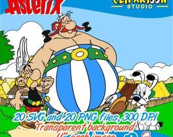 Obelix clipart | Etsy