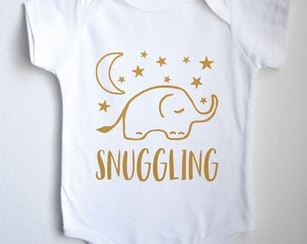 Snuggling Baby 1sie One-piece Bodysuit