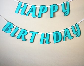 Happy Birthday Banner/Birthday Banner/Birthday Party Banner