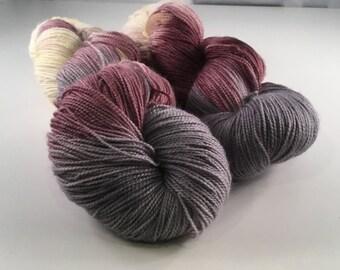 Huckleberry freeze - 80/20 SW BFL and nylon